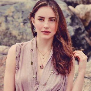Chloe + Isabel Minaret Long Station Necklace